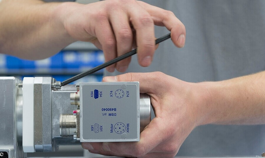DSM - Einblick Ersatzteile- und Reparatur